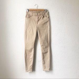 7 For All Mankind | Light Khaki Skinny Jeans 27